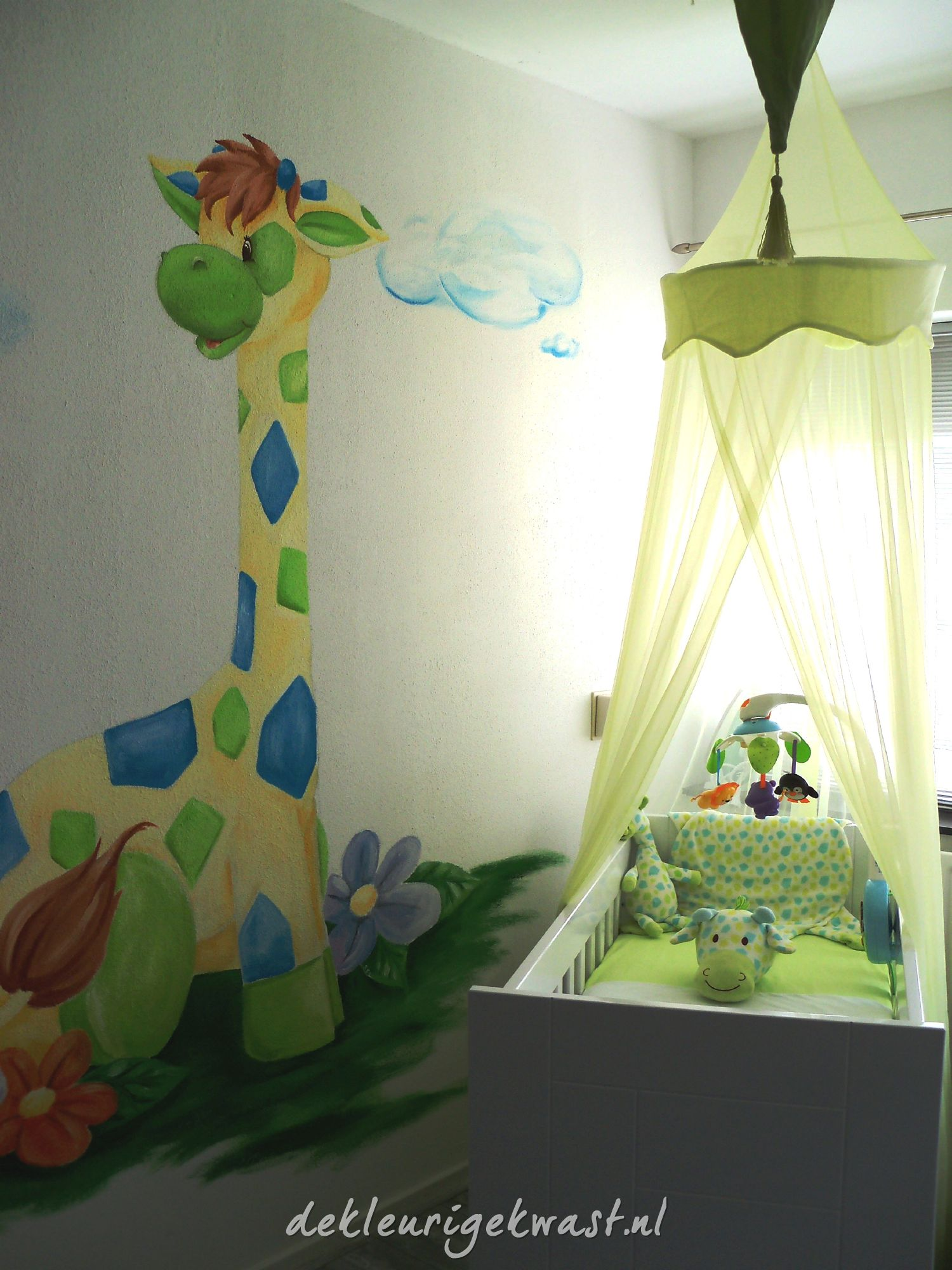 babykamer blauw groen ~ lactate for ., Deco ideeën
