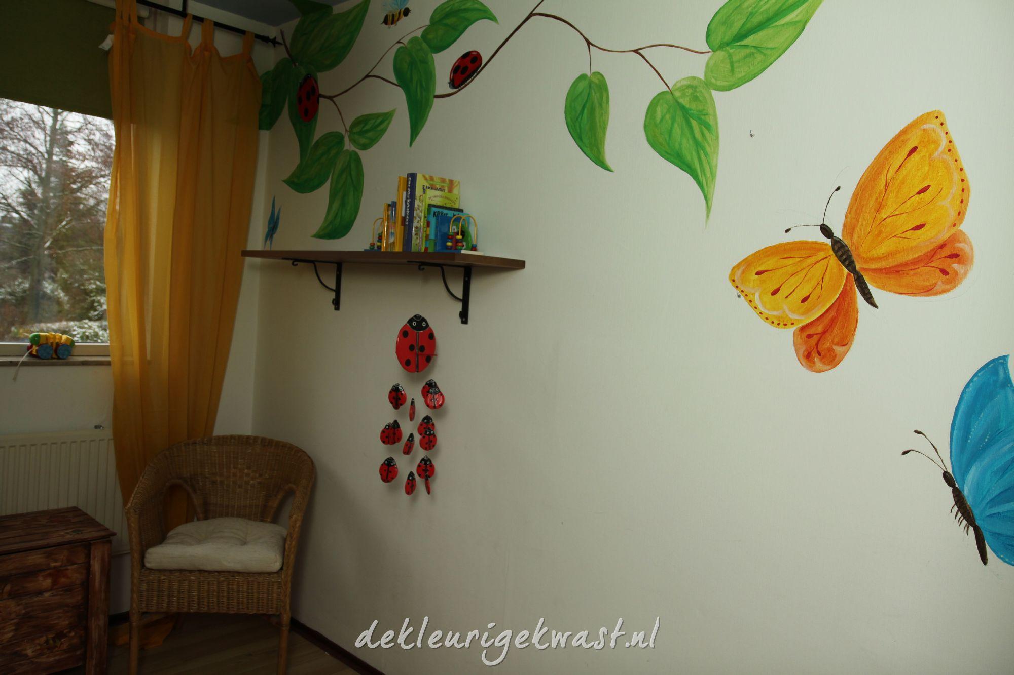 Kinderkamer Vlinder Compleet : Kinderkamers u de kleurige kwast